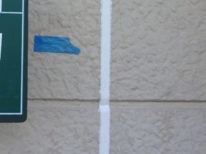 <p>乾燥期間を十分に置き、マスキングテープを剥がし完了です。