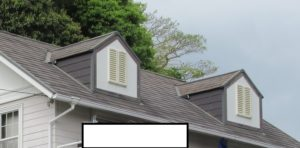 <p>屋根は紫外線による色褪せが見られ、コケや汚れが見受けられました。