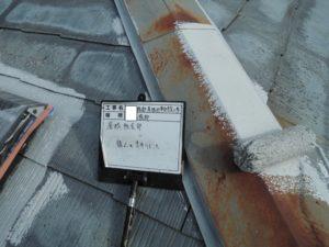 <p>次は、屋根の塗装です。