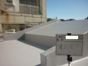 <p>十分に乾燥させて屋根は、完工です。